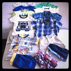 Boys 2T summer 13piece clothing lot-various brands